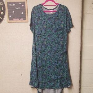 Lularoe Carly High Low Dress